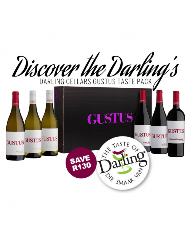 Darling Cellars Gustus Taste Pack